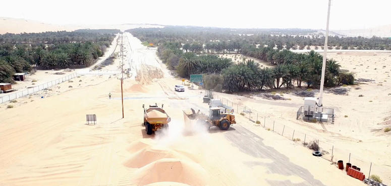 Work begins on Abu Dhabi link road that will reduce journey time by 35km