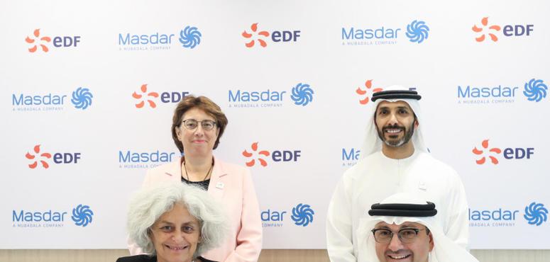 UAE's Masdar, EDF ink deal to set up energy services JV