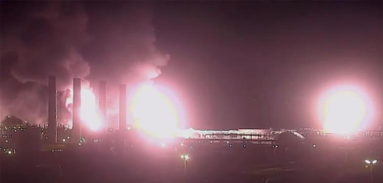 Video: Never-before-seen video of oil strikes in Saudi Arabia
