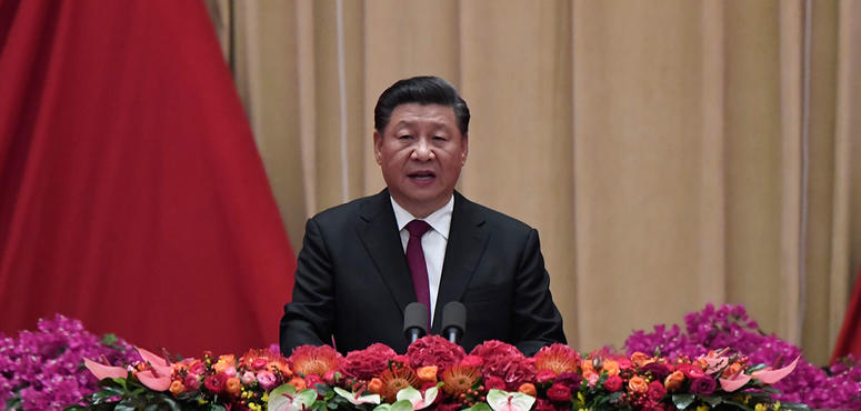 China's rise unstoppable in face of protests, trade war, says President Xi