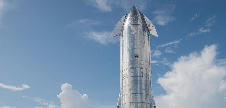 "Gallery: SpaceX's new stainless-steel ""Starship"" rocket"