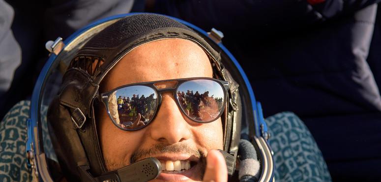 Emirati astronaut Hazzaa Al Mansoori lands back on Earth