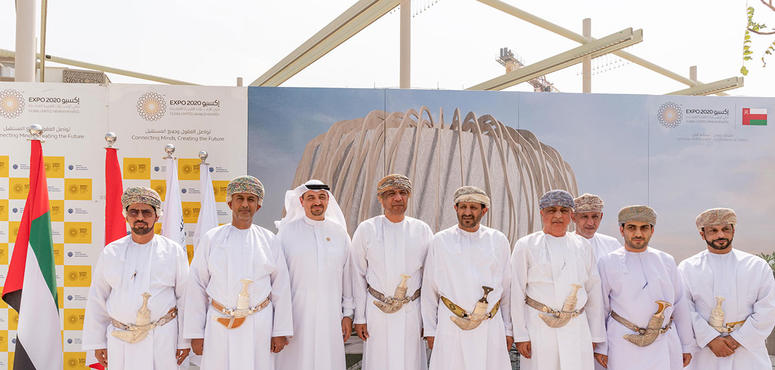 Gallery: Construction work starts on Oman pavilion at Expo site