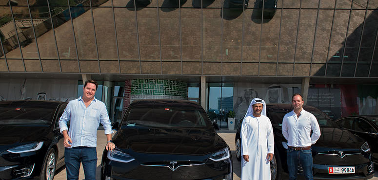 Masdar City, Ekar to offer Tesla cars for rent by the minute in Abu Dhabi