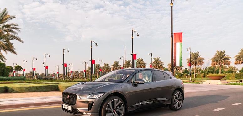 Jaguar Land Rover tests autonomous vehicle on Dubai roads