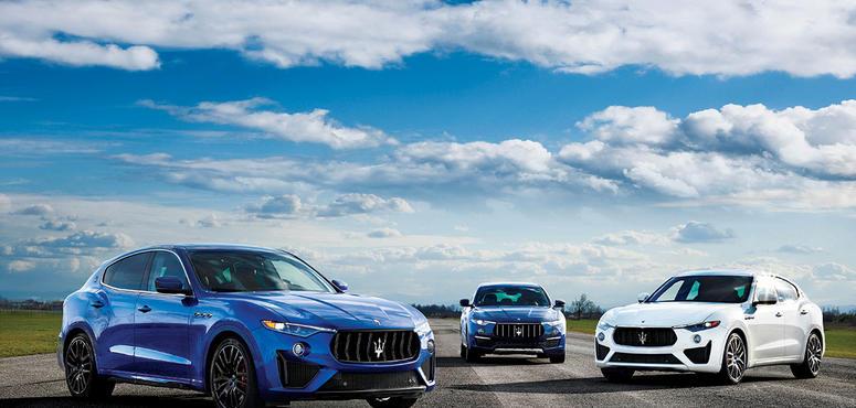 Style on four wheels: Maserati Levante