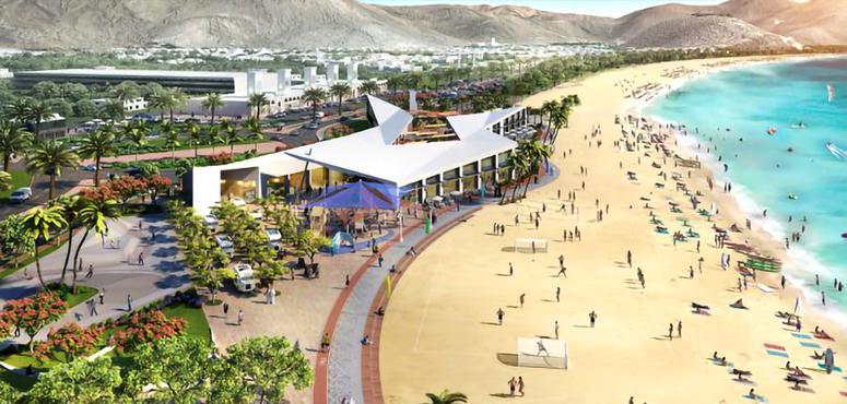 Sharjah ruler inaugurates $26m Khorfakkan Beach tourism project