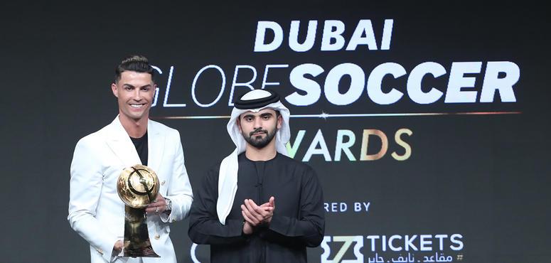 Dubai Globe Soccer Awards: 'I love this place,' says Cristiano Ronaldo