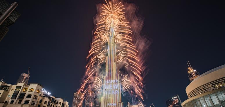 Dubai's Burj Khalifa starts new decade with record-breaking New Year's Eve show