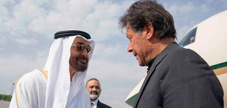 Crown Prince of Abu Dhabi Sheikh Mohamed visits Pakistan