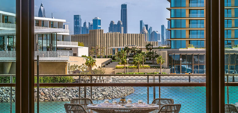 A little taste of Italy at the Bulgari Hotel in Jumeirah