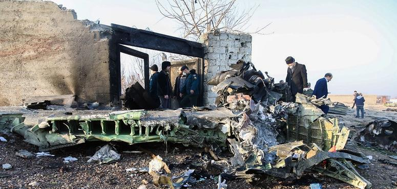 Iran confirms two missiles fired at Ukraine airliner