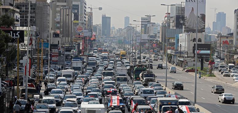 S&P cuts Lebanon debt rating, warns further cut possible