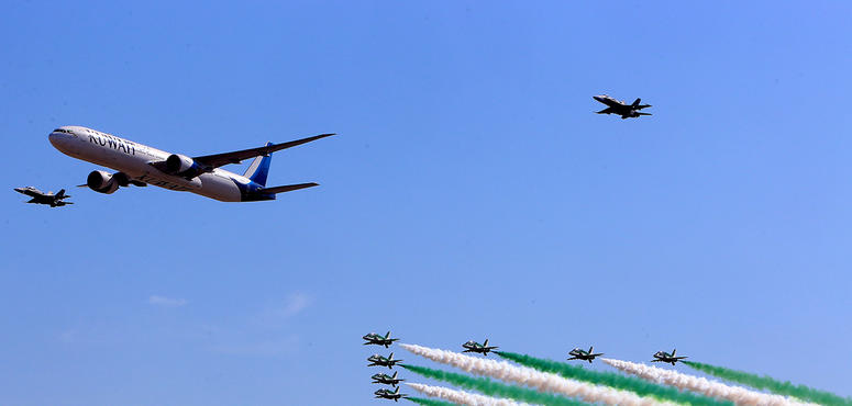 In pictures: Latest aircraft on display at Kuwait Aviation Show 2020