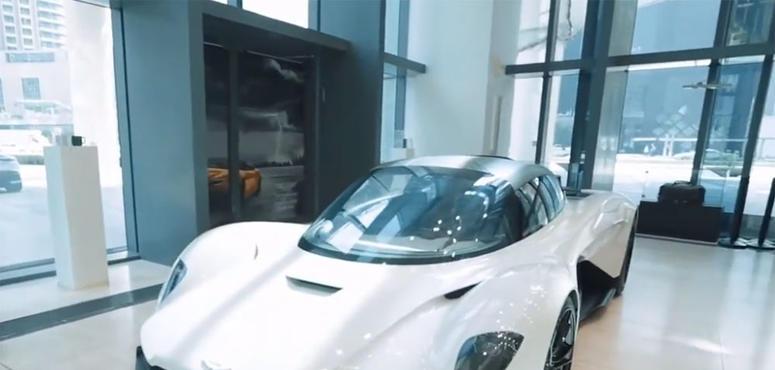 Video: James Bond's hypercar Aston Martin Valhalla in Dubai for a very special event