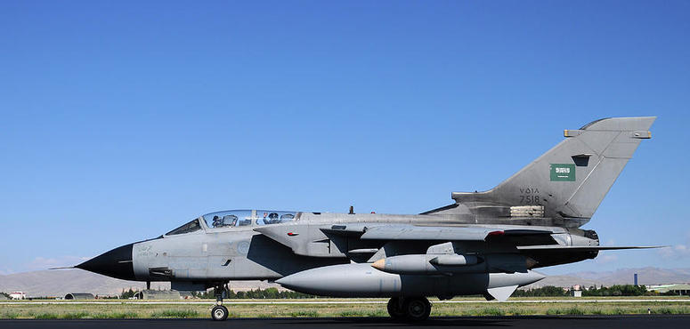 Saudi fighter jet crashes in war-torn Yemen