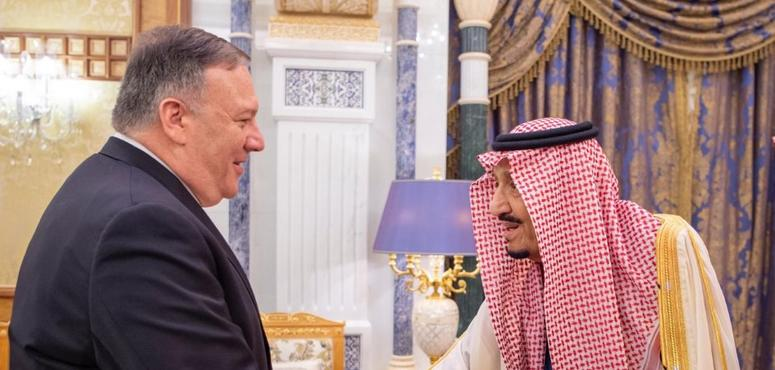 In pictures: Saudi Arabia's King Salman meets US Secretary of State Mike Pompeo