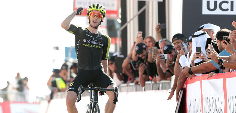 In pictures: Adam Yates tops UAE Tour Stage 3