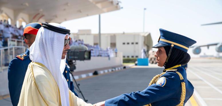 In pictures: Hazza bin Zayed attends Khalifa Air College graduation in Al Ain