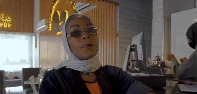 Saudi female rapper denies arrest by authorities