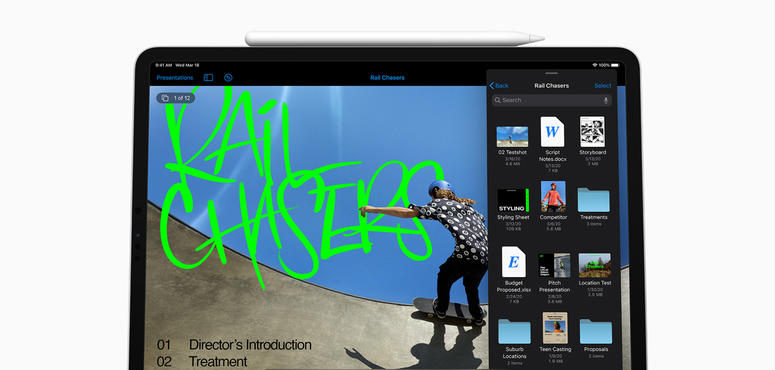 Apple's new iPad Pro supports trackpads, 3D camera system