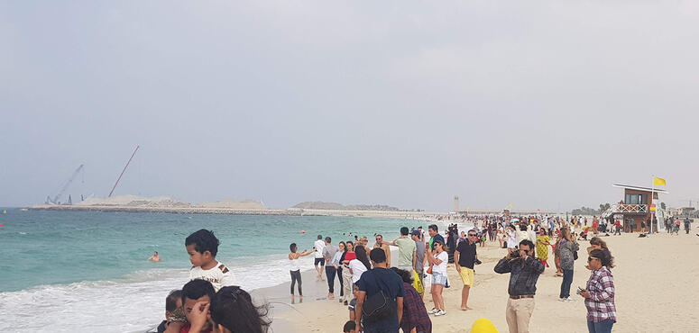 Video: How does social distancing work on Dubai's public beaches?