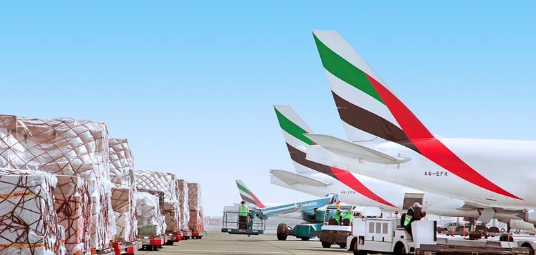 Emirates' cargo operations have kept 'the wolf from the cash door,' says Tim Clark