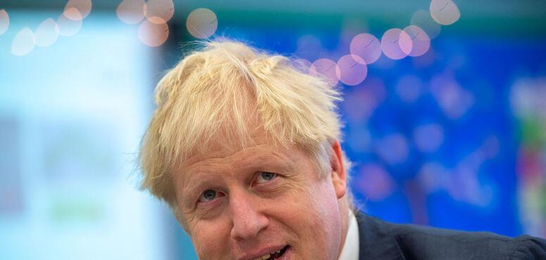 UK Prime Minister Boris Johnson leaves hospital