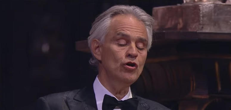 Millions watch Andrea Bocelli perform 'Music for Hope' concert in Milan