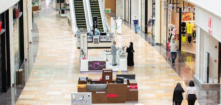 In pictures: Dubai Festival City Mall reopens its doors with reduced hours