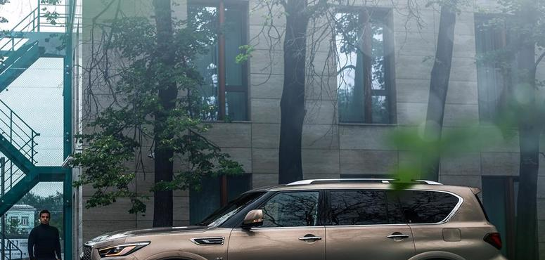 INFINITI QX80: Integrating luxury with performance