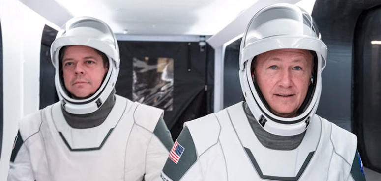 Video: Meet the astronauts set to make history in a SpaceX capsule