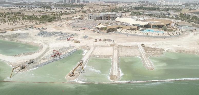 Abu Dhabi's Fatima bint Mubarak Ladies Sports Academy 50% complete