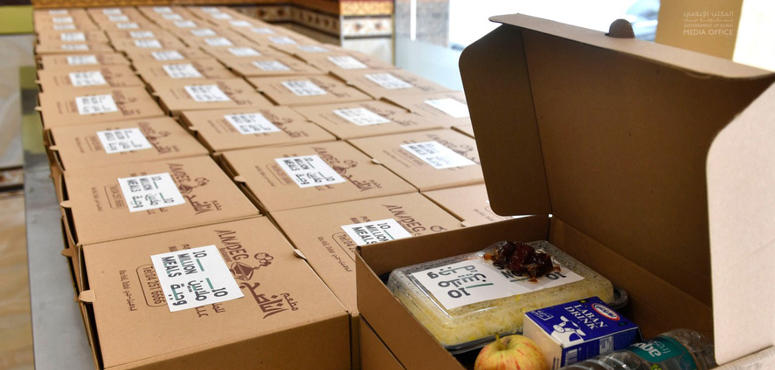 Video: UAE's '10 million meals' campaign, distribute around 300,000 iftar meals daily