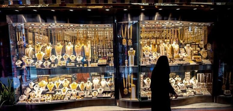 Dubai's Gold Souk shines again after lockdown