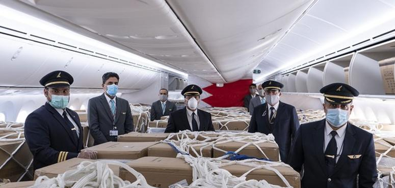 Gulf Air imports over 100 tons of medical supplies in May