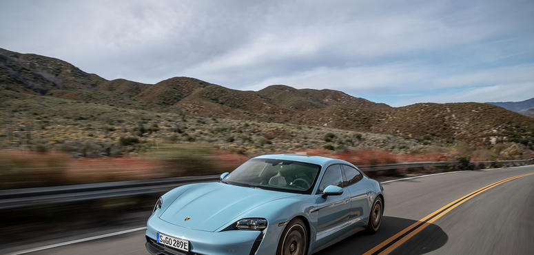 In pictures: All-new Porsche Taycan electric car goes on sale in the UAE