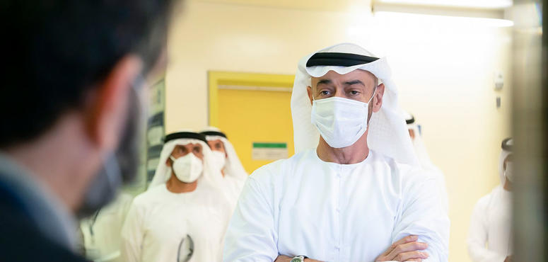 In pictures: Mohamed bin Zayed tours Barakah Nuclear Energy Plant