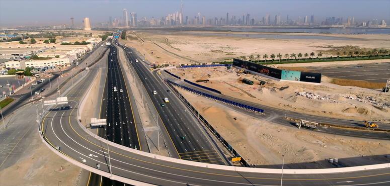 RTA opens flyover to Dubai Creek development