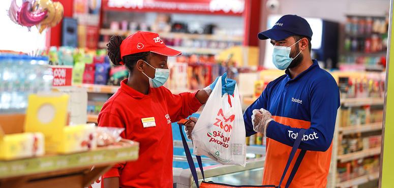 Zoom, Talabat partner for home deliveries
