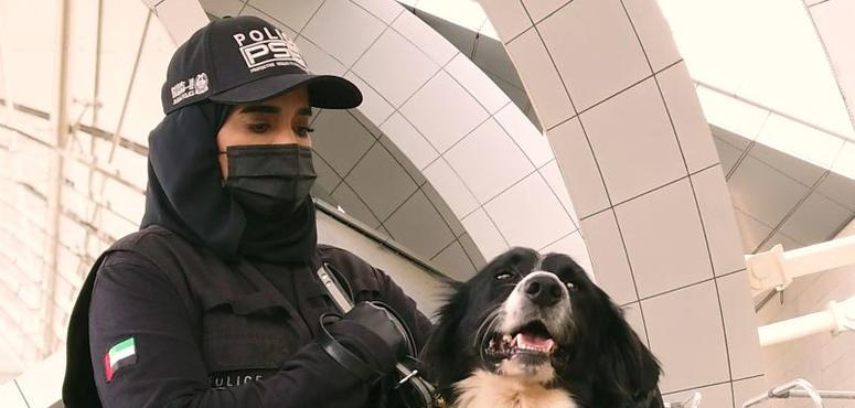 UAE's Ministry of Interior uses police dogs to sniff out Covid-19 cases