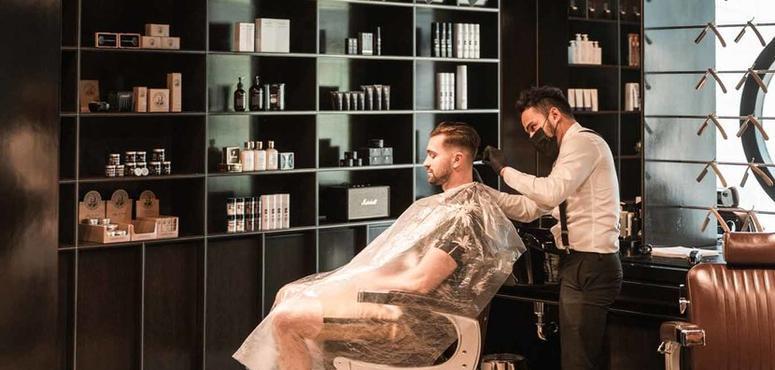 Video: Social distancing inside Dubai's salons & barbershops