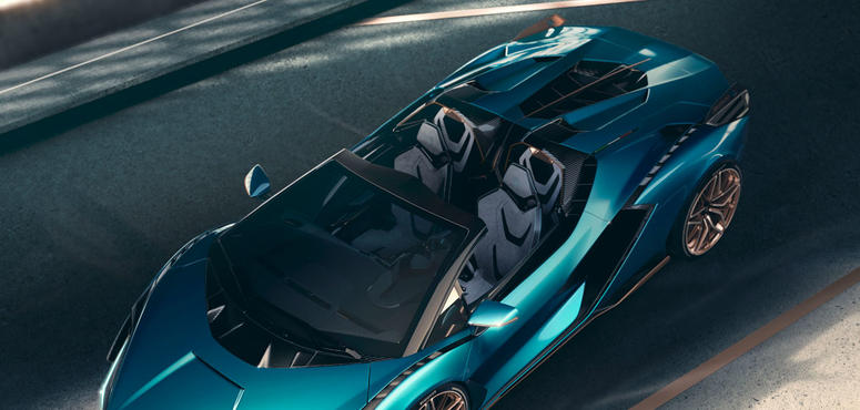 In pictures: Limited edition open-top hybrid Lamborghini Sian