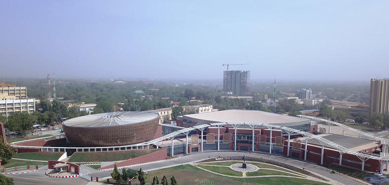 Mahatma Gandhi International Conference Center at Niamey, Niger, Africa