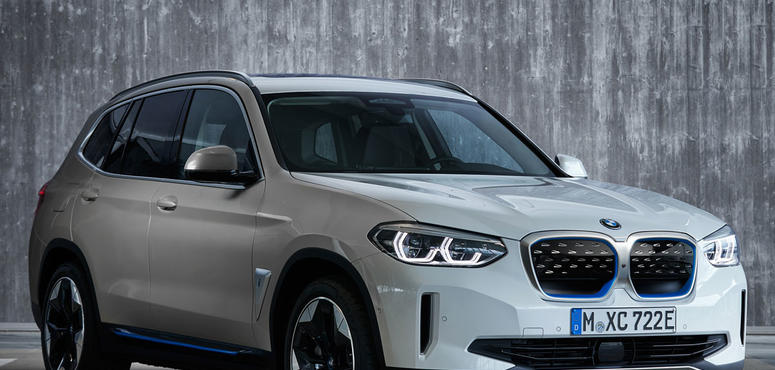 In pictures: The all-electric BMW iX3 SUV