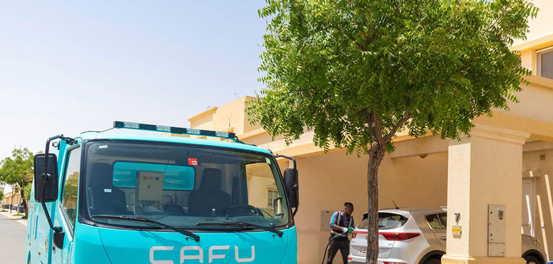 UAE 'on-demand' fuel firm Cafu removes delivery charges