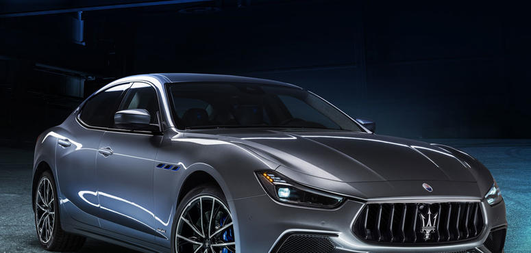 In pictures: Maserati Ghibli Hybrid brand's first-ever electric car