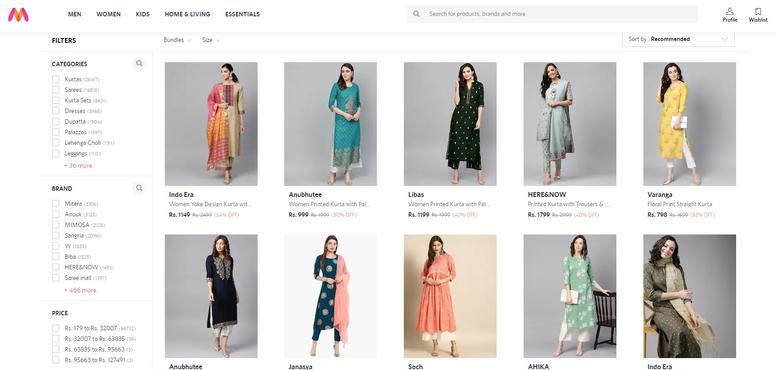 Walmart-owned Indian fashion portal Myntra eyes Gulf expansion after Noon-Namshi tie-up