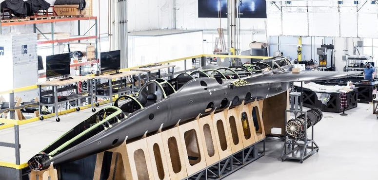 Video: The supersonic jetliner built to run on sustainable fuels