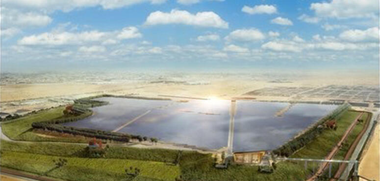 Video: Middle East's first solar energy landfill project